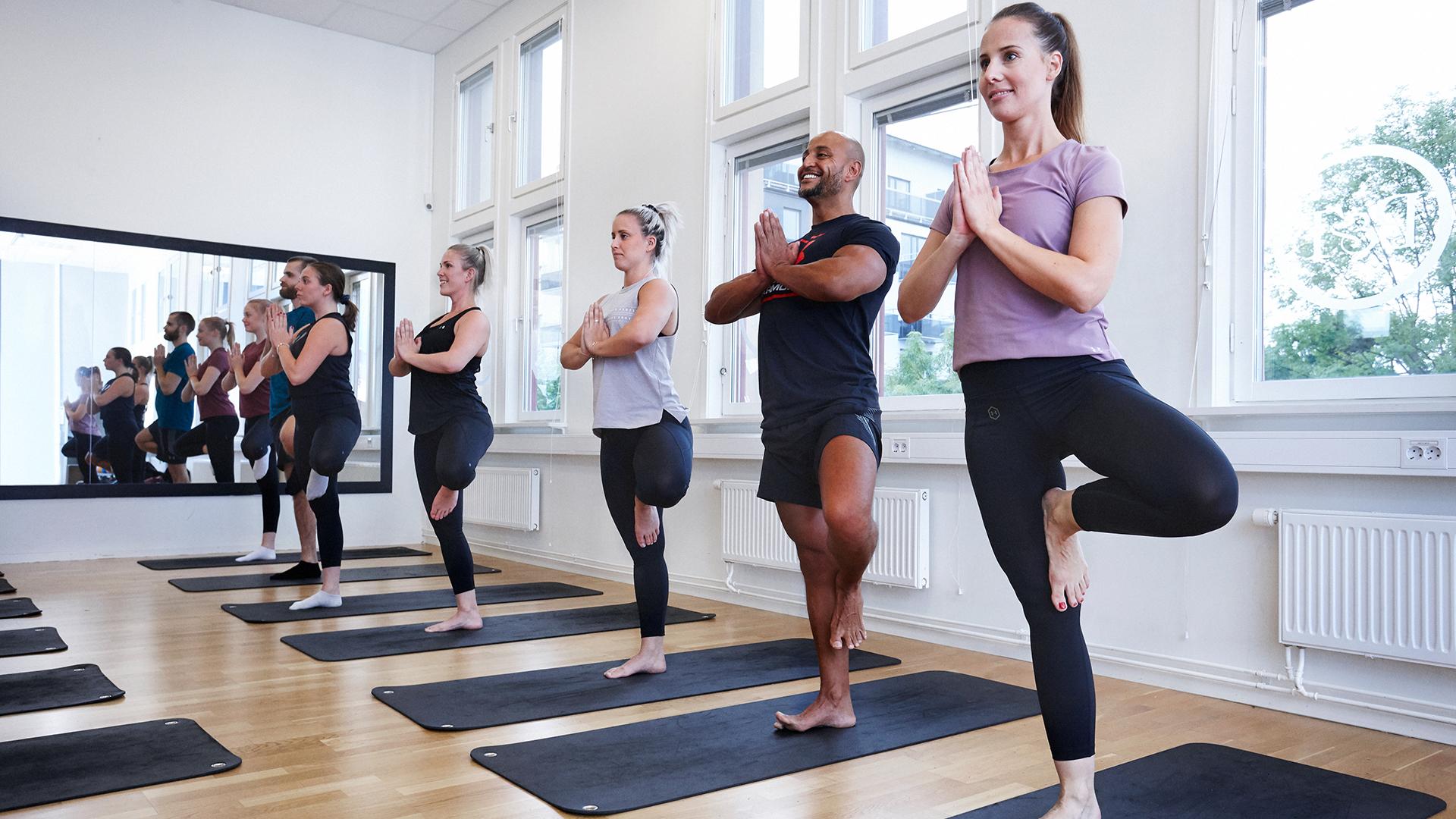 Yoga på Puls & Träning